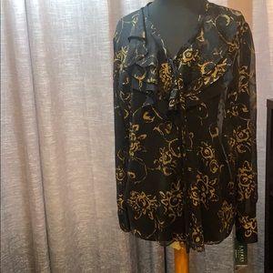 NWT stunning Ralph Lauren blouse